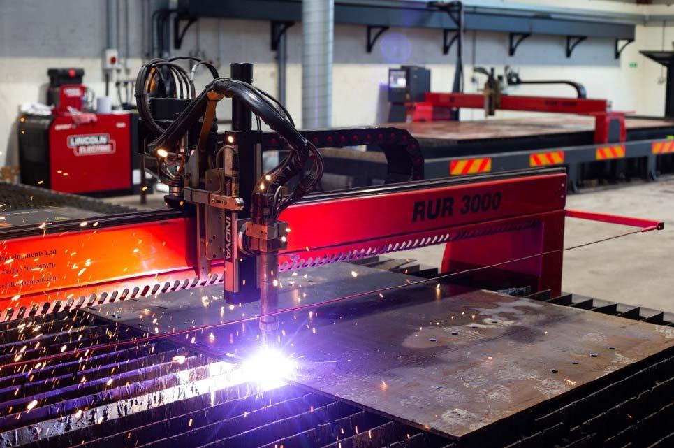 Plasma Cutting Machine at BSK Engineering