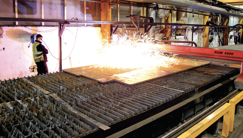 Kerf Installs Colossal Cutting Machine At Steel Processing Plant 4