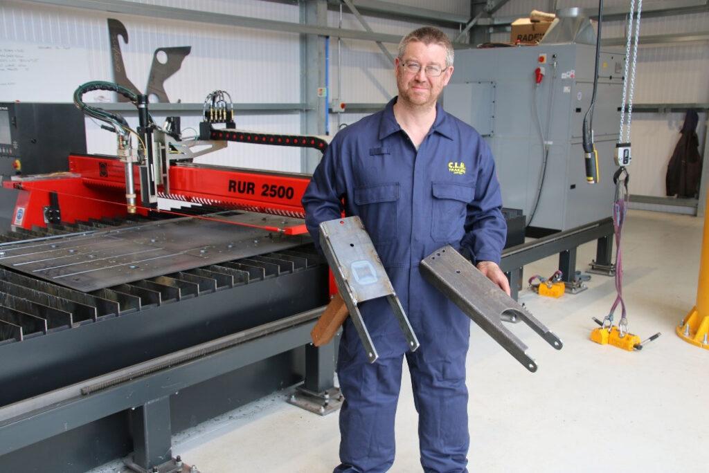 West Wales Company is a Trailblazer With New Kerf Machine 5